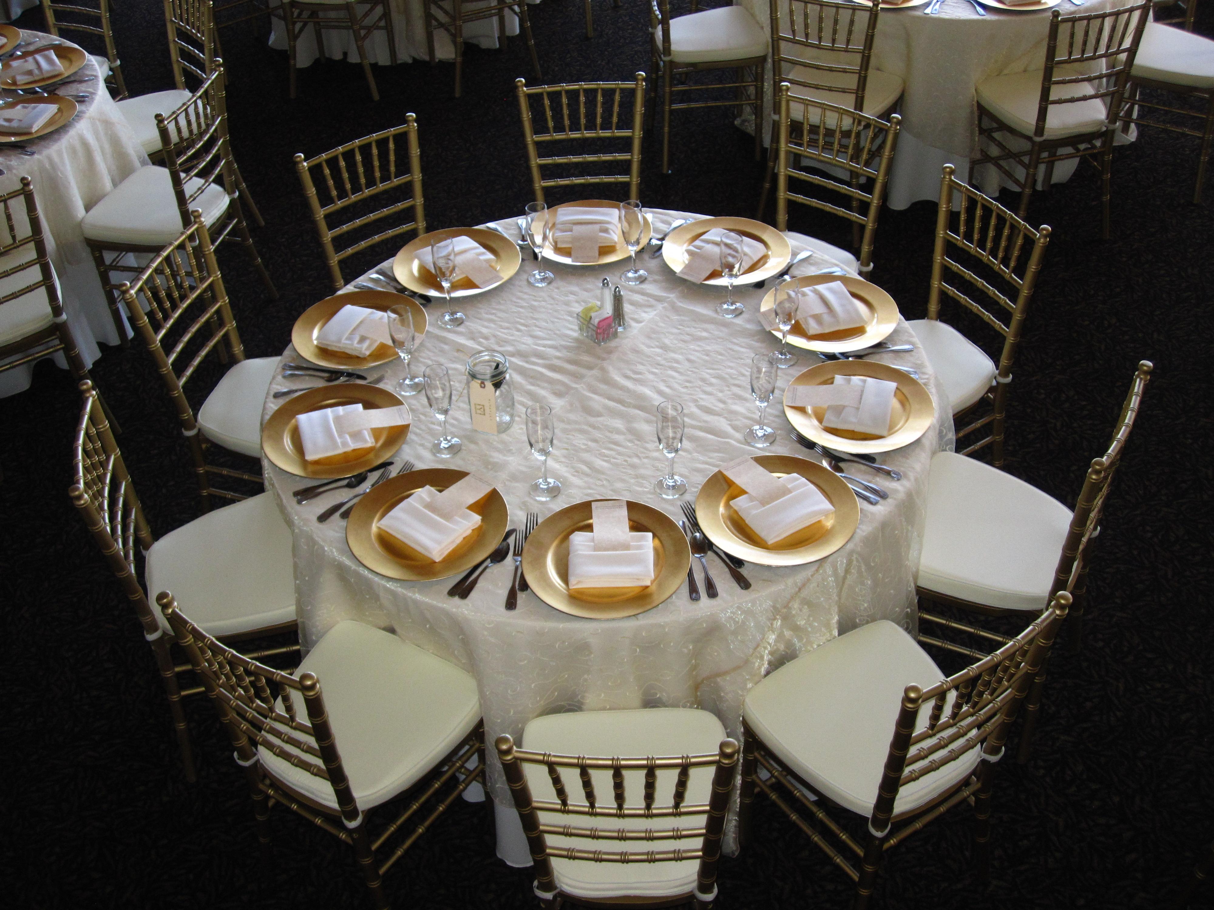 Golden Wedding 50th Anniversary Table Confetti