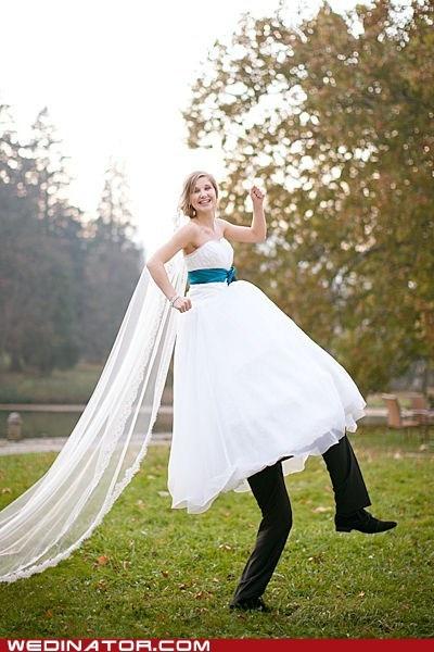 {Friday Find} Funny Wedding Photo