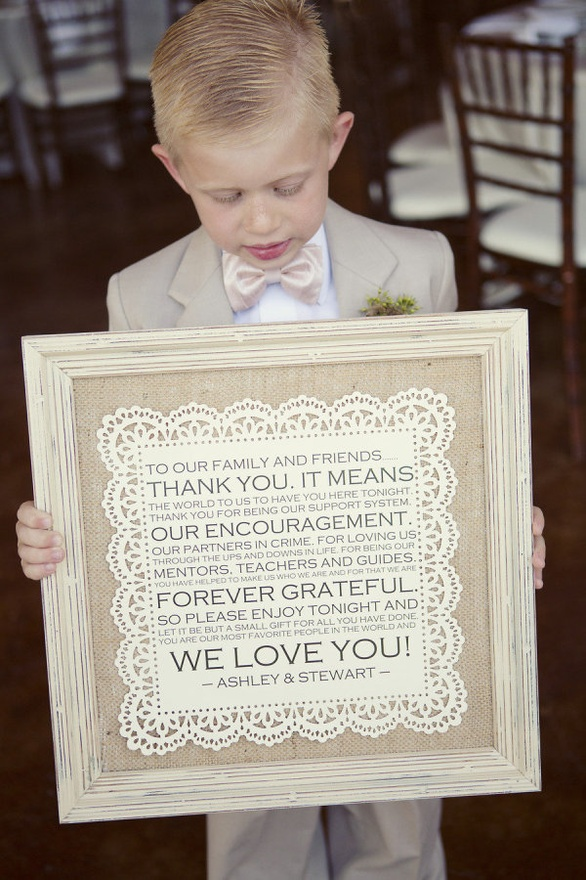 {Friday Find} Adorable and Personal Thank You