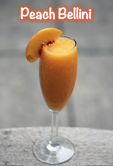 Peach Bellini Garnished JPEG